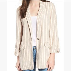 Nordstrom Brand BP Striped Blazer